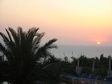 Sonnenuntergang in Ischia